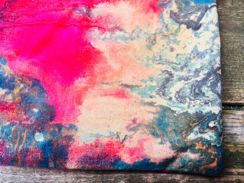 Photo: Festive Weekend: Marbling workshops with Sally Gilford