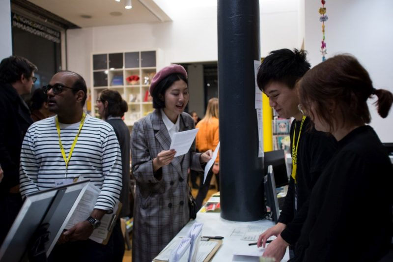 Volunteering at CFCCA (2019). Photo by Annie Feng.