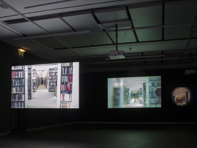 Installation view of Suki Chan's exhibtition Lucida at CFCCA